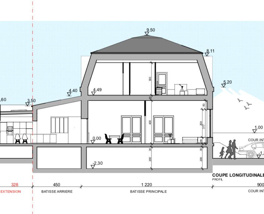 Rénovation et Extension Maison Classée Nantes