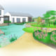 Construction Maison Neuve Redon - Aménagements Paysagers